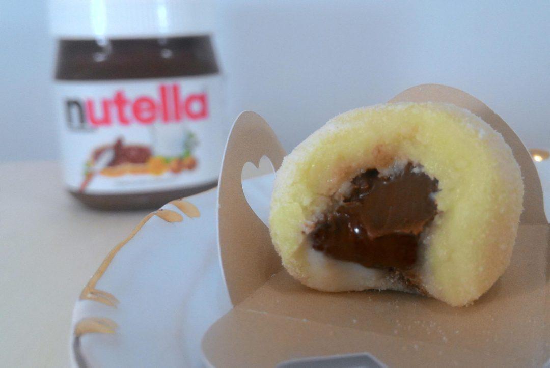 Brigadeiro Leite Ninho Recheado com Nutella