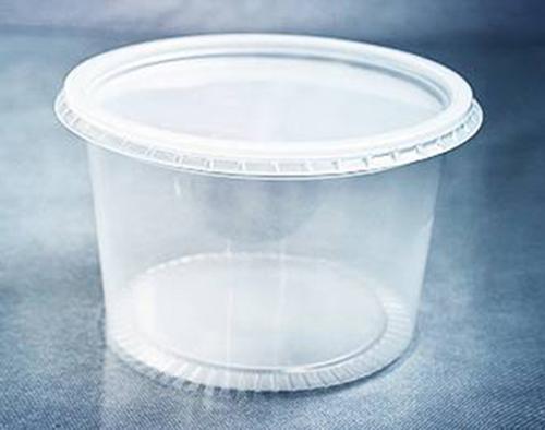 Pote de plástico