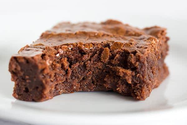 Receita de Brownie Fit