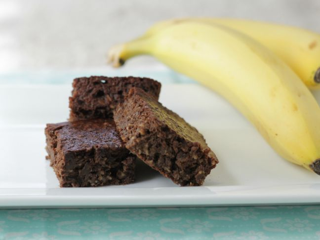 Receita de Brownie de Banana