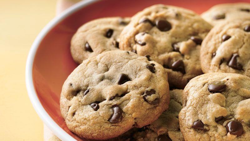 Receita de Cookies com Pingos de Chocolate