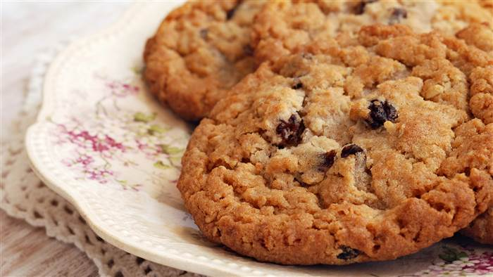 Receita de Cookie Fit de Banana e Aveia