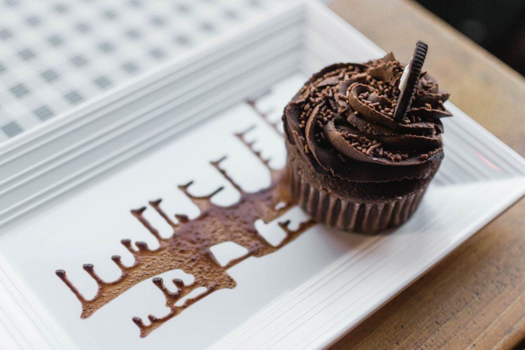 receitas de cupcake de chocolate